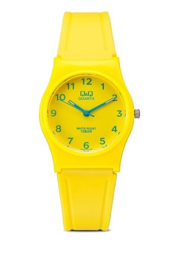 Q&esprit 京站Q  VP34J063Y 彩色矽膠手錶, 錶類, 其它錶帶
