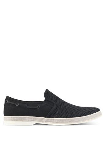 ALDO black Carufel Slip Ons & Espadrille Shoes 03A49SHBB937AFGS_1