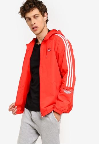 adidas originals outline windbreaker jacket
