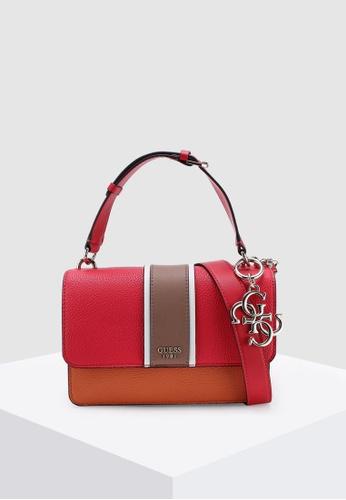 475baf7b1d73 Buy Guess La Hip Top Handle Bag Online on ZALORA Singapore