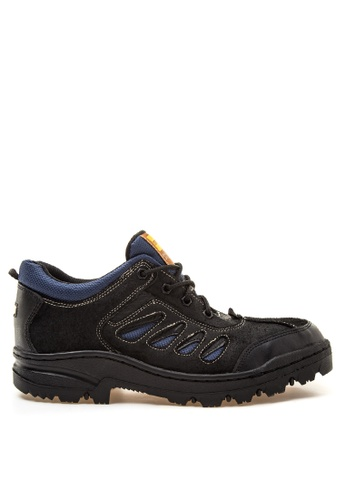 Caterpillar black and blue RS-99 Boots CA367SH66RWFPH_1