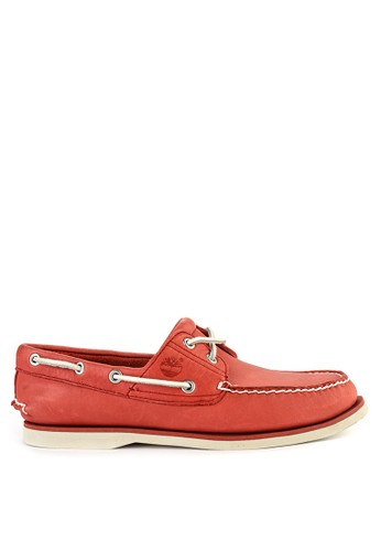 Timberland red Classic Boat 2 Eye EE63ASHAD221ADGS_1