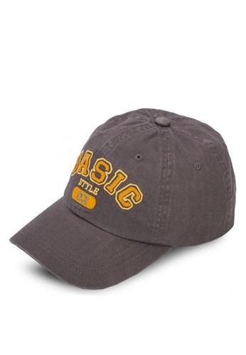 文字印esprit 鞋花鴨舌帽, 飾品配件, 鴨舌帽
