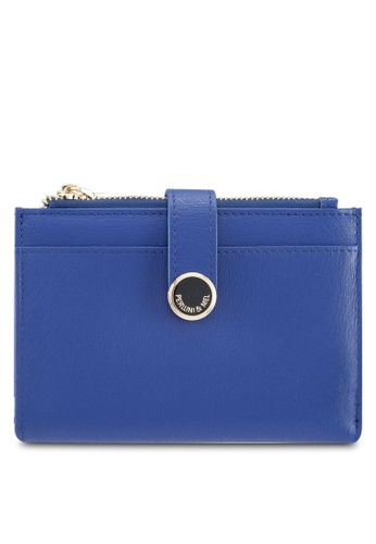 Perllini&Mel blue Faux Leather Mid-Size Wallet 048B2AC37C5961GS_1