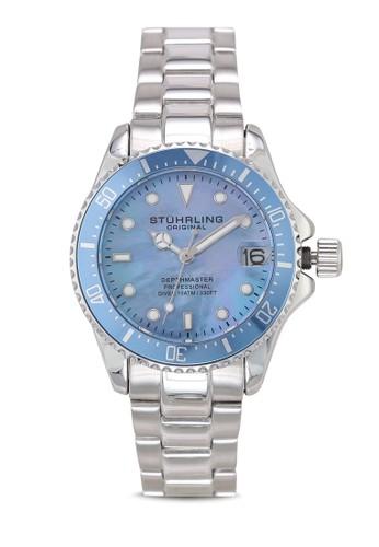 Stuhrling Original silver Aquadiver 3950L 28AC1AC50832F9GS_1
