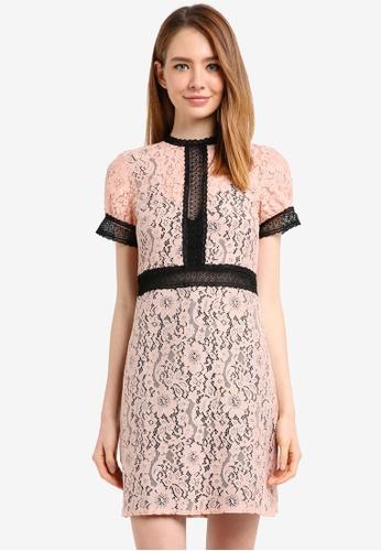 Little Mistress multi Sherberth Lace Dress 290C2AA2F6FCB2GS_1