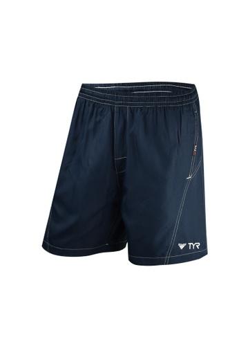 TYR navy TYR Galen Volley Shorts 851ACAA77A755CGS_1