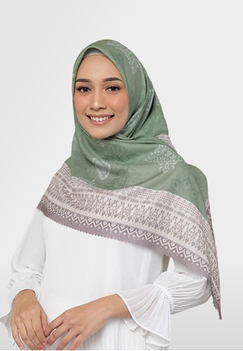 Authentism.id green Exclusive Scarf Collection - Candice Series - BRIDHA 32C75AAD4992C0GS_1
