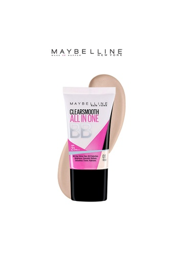Maybelline beige Clear Smooth BB Cream in Fresh MA673BE03QKUPH_1