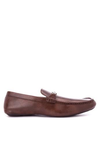 Mendrez brown Evans Loafers ME992SH0KG1TPH_1