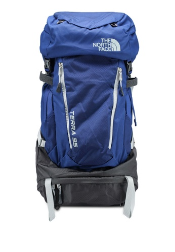 The North Face blue and multi Terra 35 Backpack 90CD0AC1304C79GS_1