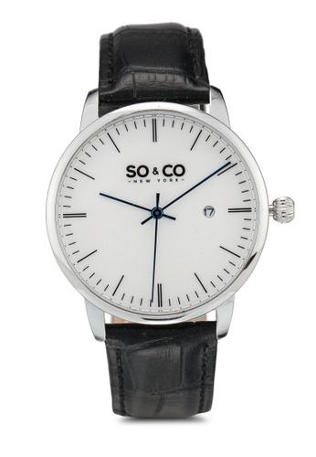 SO&CO black So&Co Watch 5521 0E468AC27CE6EEGS_1
