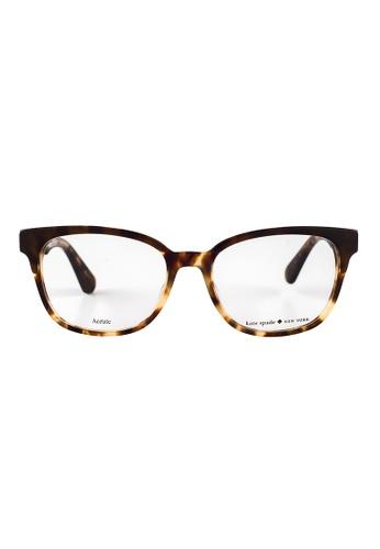 Kate Spade brown Kate Spade Carolanne Tortoise Eyeglasses WR9 KA433AC53JSWMY_1