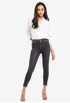 9377cfce5f1 30% OFF TOPSHOP Washed Black Jamie Jeans S  89.90 NOW S  62.90 Sizes 26S  28S 30S 32S