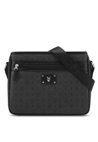 Playboy black Playboy Sling Bag PL371AC0SMBZMY_1