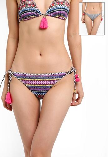 Piha multi Coachella Reversible String Bikini Bottoms PI734US0S3C3MY_1
