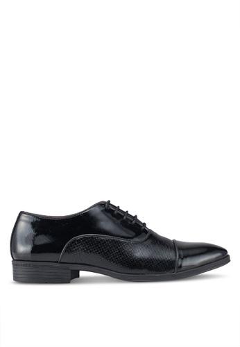 ACUTO black Leather Formal Shoes 2E2E2SH6633F97GS_1