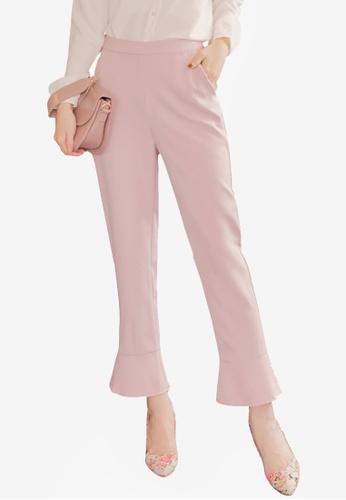 Yoco pink Trumpet Pants E572EAA234A677GS_1