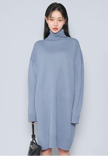 寬鬆針織連衣裙, 服飾,esprit台灣outlet 及膝洋裝