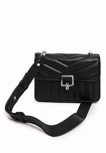 PIMKIE black Quilted Boxy Shoulder Bag 9A260AC7C40404GS_1