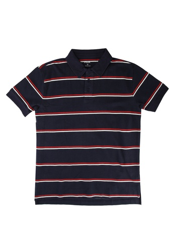 FOX Kids & Baby navy Striped Polo 2AB20KA3178413GS_1