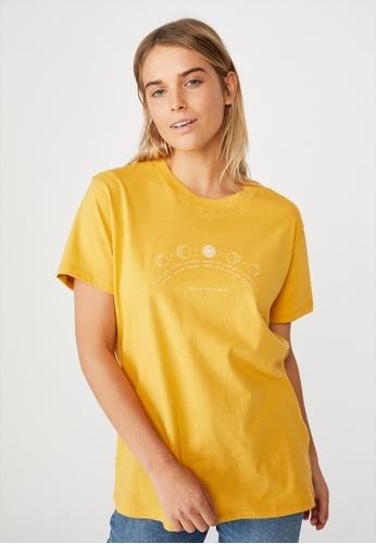 Cotton On yellow Classic Arts T Shirt 86C33AA0139088GS_1