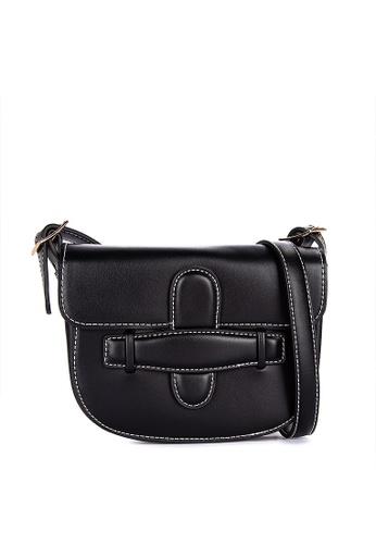 Spring Fling black Belt Bag With Shoulder Strap F464FACC432EACGS_1