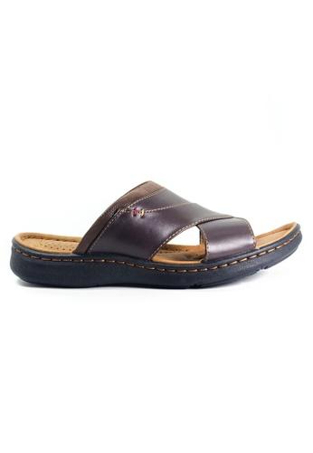 G-wingx brown G-Wingx Men Sandal 53EC4SH7EB55B8GS_1