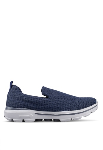 UniqTee 藍色 Lightweight Slip-On Sport Shoes Sneakers 0D0B5SH8168AF6GS_1