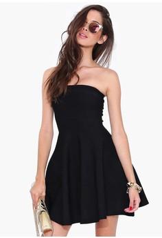Off Shoulder A-Line Dress