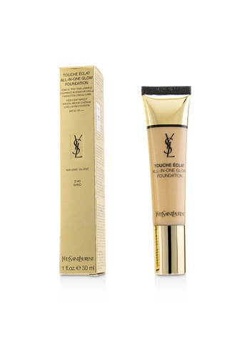 Yves Saint Laurent YVES SAINT LAURENT - Touche Eclat All In One Glow Foundation SPF 23 - # B40 Sand 30ml/1oz 75B7BBE630EE43GS_1