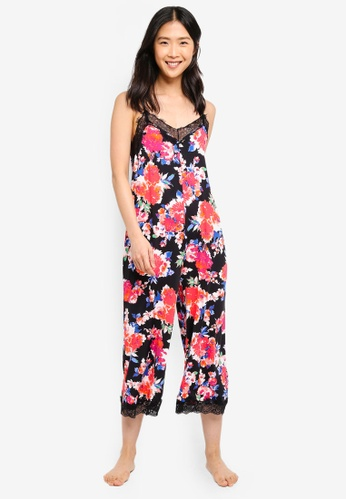 Cotton On Body black and multi Slinky Jumpsuit 82C3EAA6A90A4BGS_1