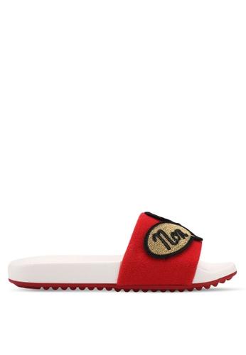 ALDO red Eralidda Beach Sandals A7E5ESH6F030E5GS_1