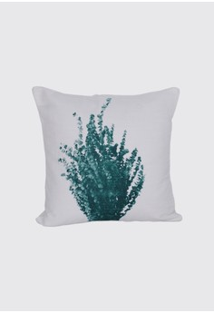 Bunch of Leaves Print A Throw Pillow Case