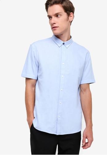 G2000 blue Oxford Shirt G2754AA13WYWMY_1