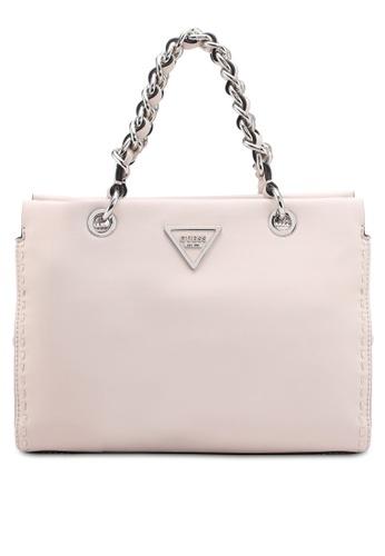 Guess pink Sawyer Small Girlfriend Bag FA796AC40A3893GS_1