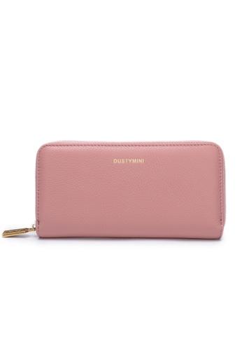 DUSTY pink Mini Wallet Femme Long 82165ACFEF780CGS_1