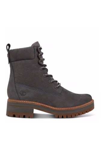 Timberland grey Courmayeur Valley Lace-Up Boot TI324SH2V7FWHK_1