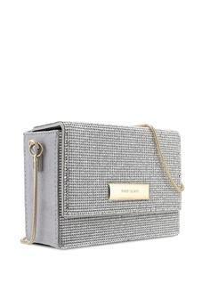 34% OFF River Island Diamante Chain Mini Crossbody Bag RM 149.00 NOW RM  98.90 Sizes One Size 80e5f19e22444