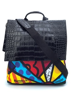 Printed Backpack D3223