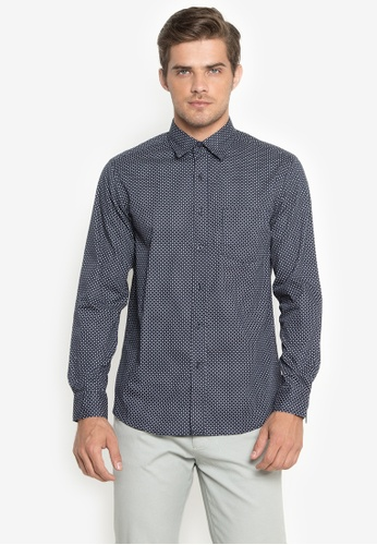 a0f4290de6acf Shop BENCH Full Print Long Sleeve Shirt Online on ZALORA Philippines