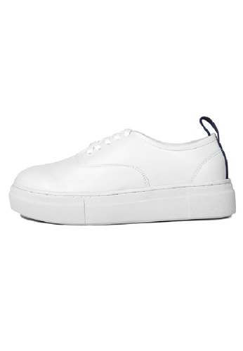 Sunnydaysweety white 2017 Latest Korean Retro Leather Shoes C022497W SU443SH50HBHHK_1