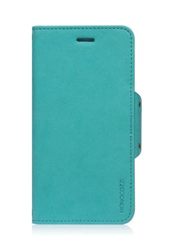 Monocozzi blue Lucid Folio Leather Hard Flip Folio For iPhone 6 MO983AC59BXGHK_1