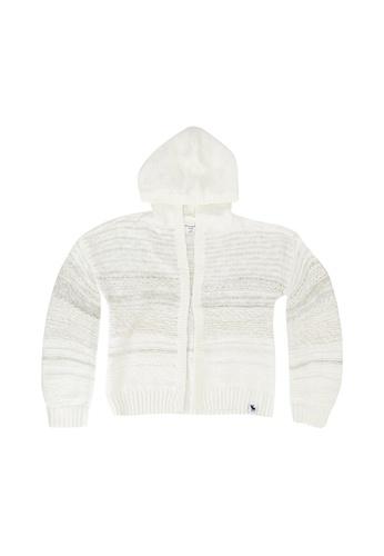 Abercrombie & Fitch white Boho Cardigan 75A82KABB0B40DGS_1