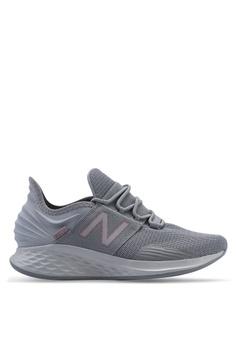 cheap for discount f4c84 ad5c4 New Balance grey ROAV Fresh Foam Running Shoes 91809SHA6A61D2GS 1