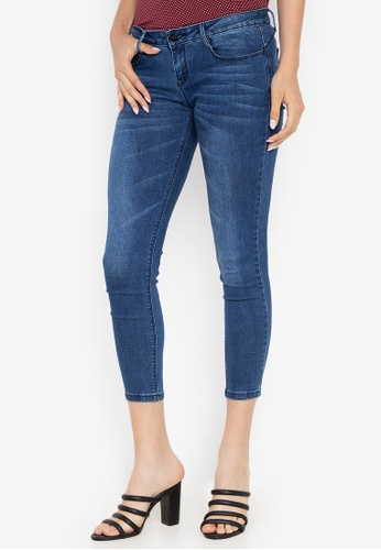 f54474dd7 Shop Crissa Skinny Cropped Jeans Online on ZALORA Philippines