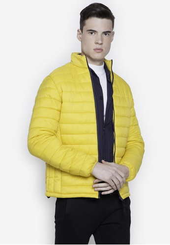 Springfield yellow Water Repellent Padded Jacket 4FE0FAA90F7F8FGS_1