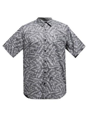 Spyderbilt grey Digit Men Shirt 17359AA21A6DFFGS_1