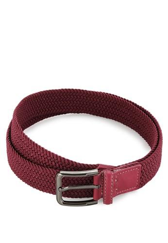 EAGLE Genuine Leather Elastic Belt W30-M