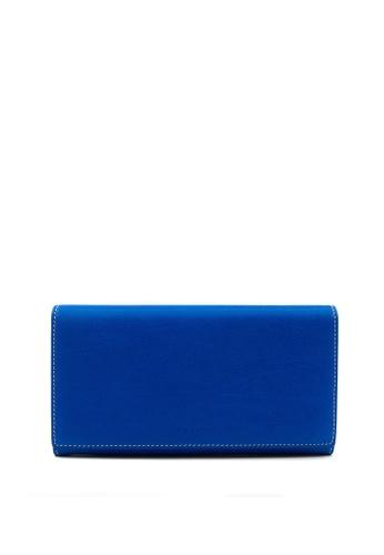 Enjoybag navy Kobe Calf Leather Long Wallet 13DA6AC96473AFGS_1